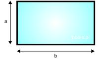 basen prostokątny